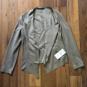 Zara Faux Suede Jacket Size Small